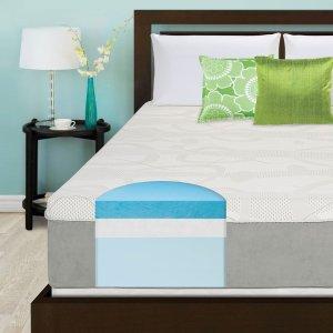 Slumber Solutions Choose Your Comfort 14-inch King-size Gel Memory Foam Mattress - 15869866 - Overstock.com Shopping - Great Deals on Slumber Solutions Mattresses
