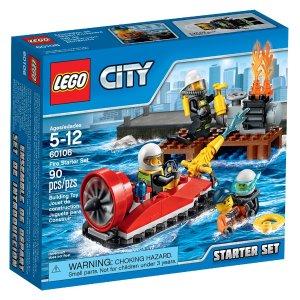 $6.39 LEGO City Fire Starter Set 60106