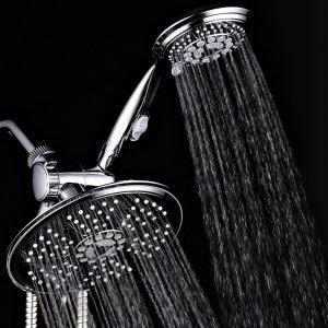 DreamSpa 38-Setting 3-Way Rainfall Showerhead / Handheld Shower Combo