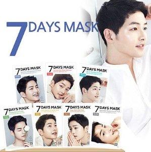 $2 Forencos Song Joong Ki Seven Days Mask @ MEMEBOX