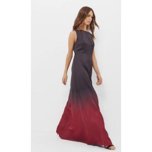 Ombre maxi dress - Black | Dresses | Ted Baker