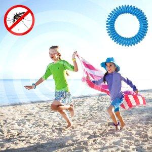 Free! Premium Mosquito Repellent Bracelets - 12 Pack