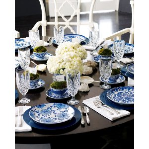 Pace Traditional Blue & White Dinnerware