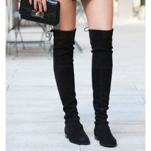 Stuart Weitzman Midland Suede Over-The-Knee Boots