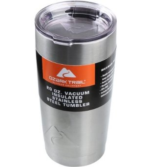 $7.74 Ozark Trail 20-Ounce Double-Wall Tumbler