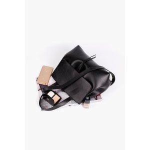 Black Shoulder and Crossbody Bag