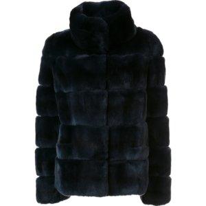 Yves Salomon Rex Rabbit Coat | Kirna Zabete