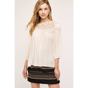Moliet Lace Top | Anthropologie