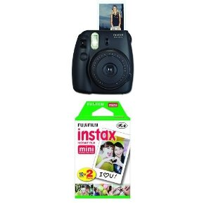 $43.16Fujifilm Instax Mini 8 Instant Film Camera with Twin Pack Instant Film (Yellow)