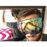 Gonex OTG 防雾防风 UV防晒 双层球面专业滑雪眼镜