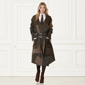 Winston Patchwork Coat - Coats � Coats & Trenches - RalphLauren.com