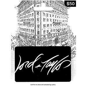 Amazon.com: Lord & Taylor Gift Card $50: Gift Cards