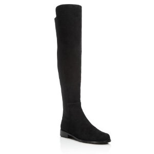 Stuart Weitzman 5050 Stretch Suede Over The Knee Boots