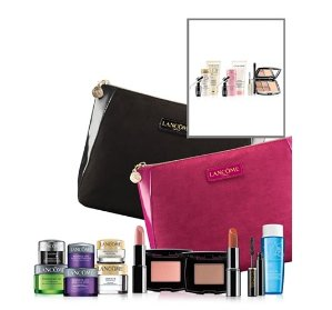 Free 7-pc Gift Set with Any Lancome Purchase of $35 @ macys.com