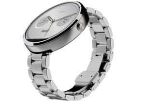 Motorola Moto 360 Smart Watch w/ 18mm Light Metal Band/ Silver