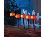 Pumpkin Pathway Battery Operated Lawn Stakes Halloween Decoration - Walmart.com
