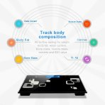 $16.55 Etekcity Digital Body Weight Bathroom Scale With Skid Free Padding, 400 Pounds