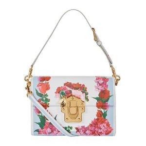 Dolce & Gabbana Lucia Leather Box Bag| Harrods
