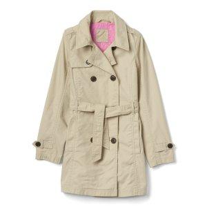 Tie-waist trench coat | Gap