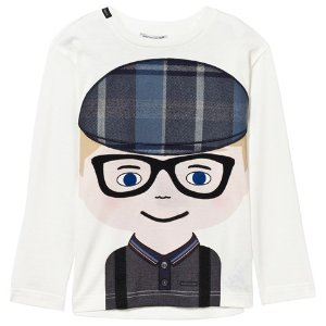 Dolce & Gabbana Boy Applique Long Sleeve Tee | AlexandAlexa
