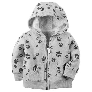 Baby Boy Printed French Terry Zip-Up Hoodie   Carters.com