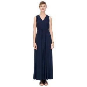 V-Front Maxi Dress | Rebecca Taylor