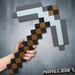 Minecraft Foam Iron Pickaxe