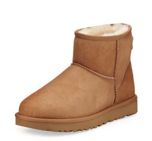 Extended One More Day! Up to $100 Off UGG Classic Mini II Boot @ Neiman Marcus