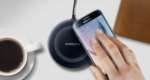#1 Best Seller $19.99 Samsung Wireless Charging Pad with 2A Wall Charger