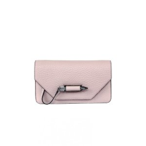 Mackage - ZOEY-C DUAL LEATHER MINI CROSSBODY BAG IN BLUSH FOR WOMEN BY MACKAGE