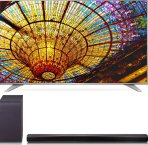 $799 LG 55UH6550 55-Inch 4K UHD Smart TV w/ SH5B 2.1ch 320W Sound Bar Bundle