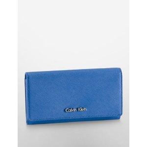 scarlett flap envelope continental wallet | Calvin Klein