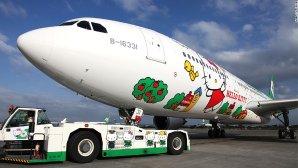 $564.60Hello Kitty Plane Roundtrip Flight: from Houston,TX(IAH) to Hong Kong China(HKG)