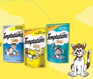 FREE! Whiskas Temptations Cat Treats Sample
