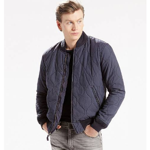 Thermore® Quilted Bomber | Nightwatch Blue |Levi's® United States (US)