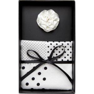 Silk Lapel Clip & Pocket Square