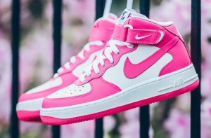$48.72 AIR FORCE 1 MID HYPER PINK On Sale @ Nike.com