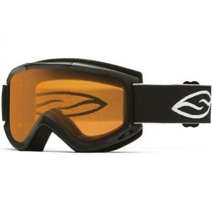 Smith Optics Cascade Classic Snow Goggles (Medium, Black / Gold Lite) | Focus Camera
