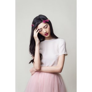 Silk Tee — Alexandra Grecco