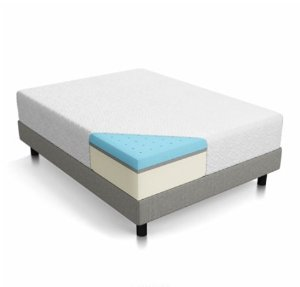 $307.41 LUCID 12 Inch Gel Memory Foam Mattress - Queen
