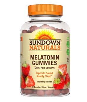 Sundown Naturals Melatonin 5 ,60 Gummies