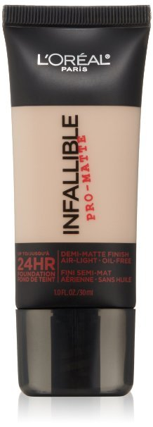 L'Oreal Paris Cosmetics Infallible Pro-Matte Foundation Makeup