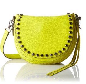 $69.83 Rebecca Minkoff Unlined Saddle Shoulder Bag