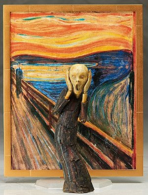 $44.54 Figma The Scream Figure @Amazon Japan