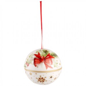 Christmas Balls Ball Ornament : Bow 4 in - Villeroy & Boch