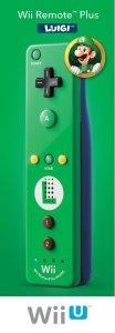 Nintendo Remote Plus, Luigi - Nintendo Wii