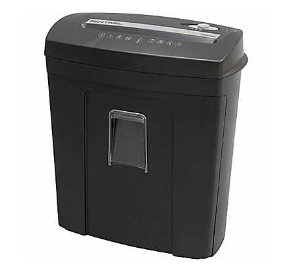 Sentinel 8 Sheet Micro Cut paper Shredder w/ Pull Out Basket