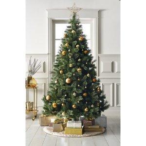 7折,满$50减$10,满$100减$25妆点节日气氛~ Target 精选仿真圣诞树促销