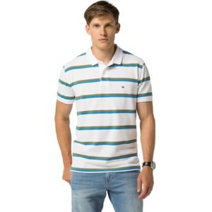Classic Fit Stripe Polo | Tommy Hilfiger USA