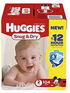 低至$8.47Amazon精选HUGGIES 好奇多款尿裤热卖